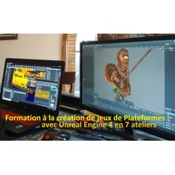 """Formation """"création de jeux de plateformes sous Unreal Engine 4"""""""