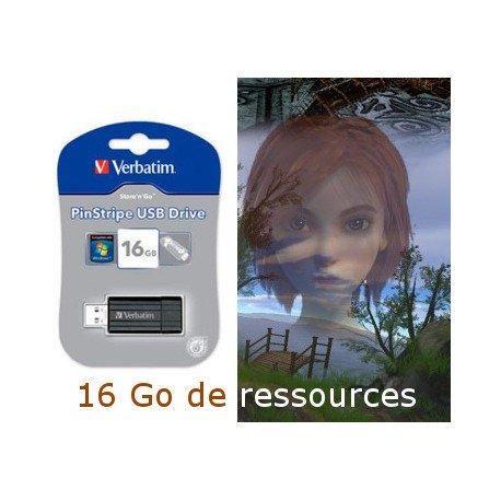 16 Go de Ressources Blender pour créer ses propres jeux 3D (eq. 5 DVD)