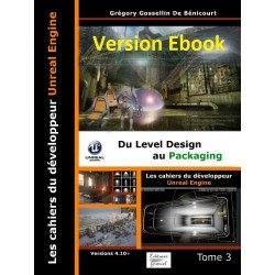 Les cahiers d'Unreal Engine T3: Du Level Design au Packaging (ebook)