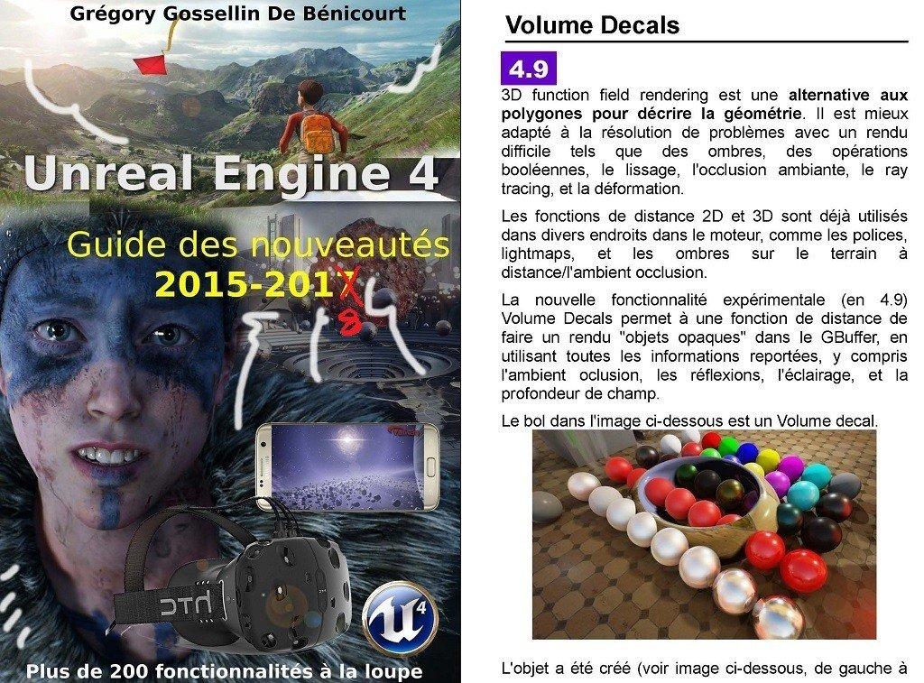 Nouveau livre GRATUIT de 350 pages sur les nouveautés 2015-2018 d'Unreal Engine 4